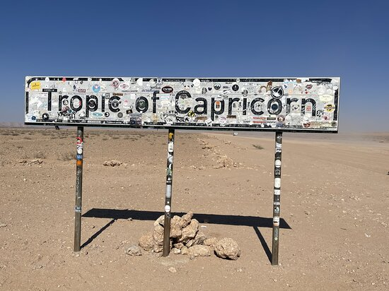 Solitaire, Namibia: the Sign!