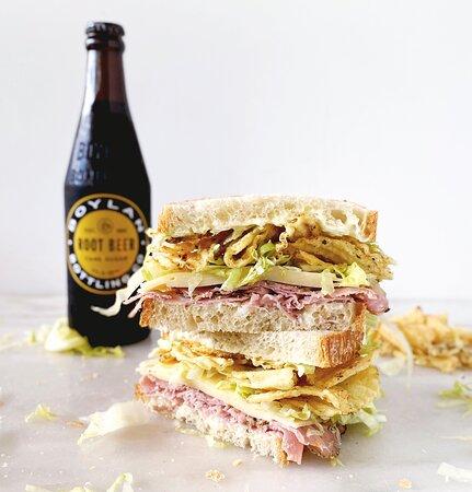 Middlesex, เวอร์มอนต์: Lunchbox Ham and Cheese Sandwich