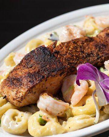 Salmon & Shrimp Tortellini