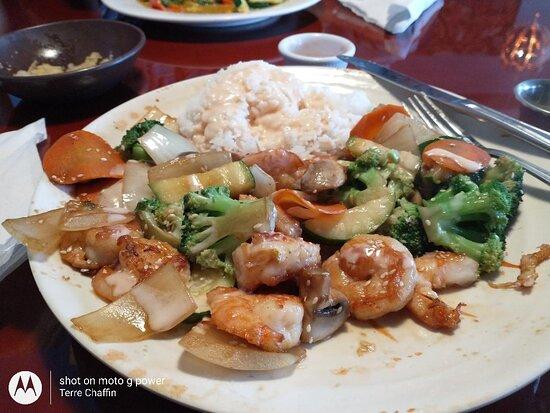 Mint Hill, Kuzey Carolina: Teriyaki Shrimp