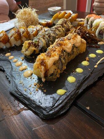 Excelente sushi, la mejor experiencia