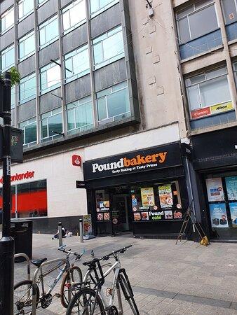 Pound Bakery along Lord Street