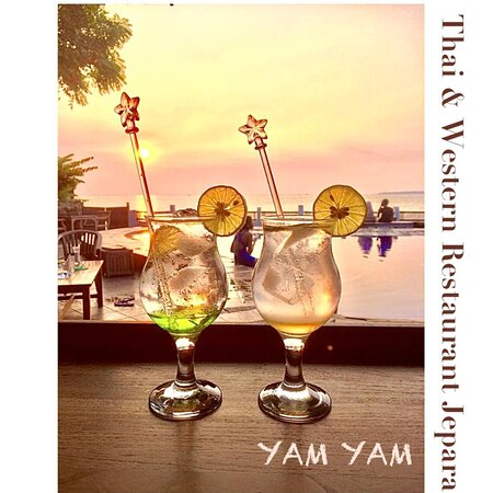 YAM YAM Restaurant Jepara is Open Everyday!!!!!! Full service Nonstop. Special info during Covid period the Open hours will be from 8:00-21:00 ( last order 20:15, last order for take away until 20:45)  See you... Kiss (from faraway) All staff YAM YAM 😘