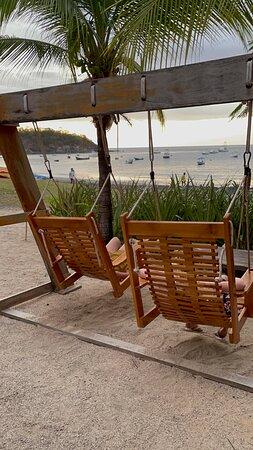 Playa Ocotal, Costa Rica: swings