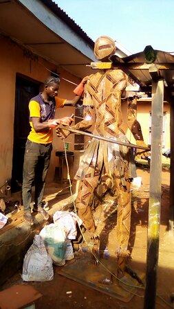 Ikorodu, Nigeria: Artist