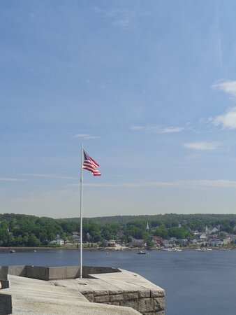 Prospect, ME: View from top of Fort