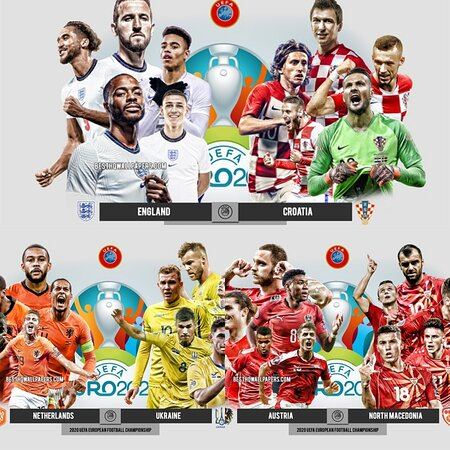 Every euro game shown live ⚽️