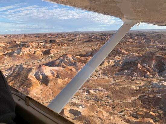 Lake Eyre & Painted Hills flight from Wilpena