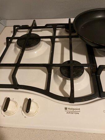Чистота плиты на общей кухне