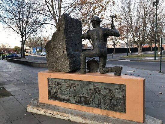 Cornish Miner monument