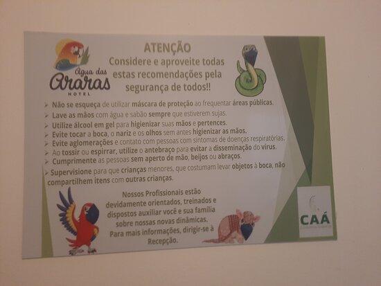Paraguacu Paulista, SP: Seguindo as regras para evitar contaminação por Covid-19