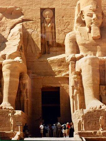 أبو سمبل, مصر: Temple entrance at Abu Simbel