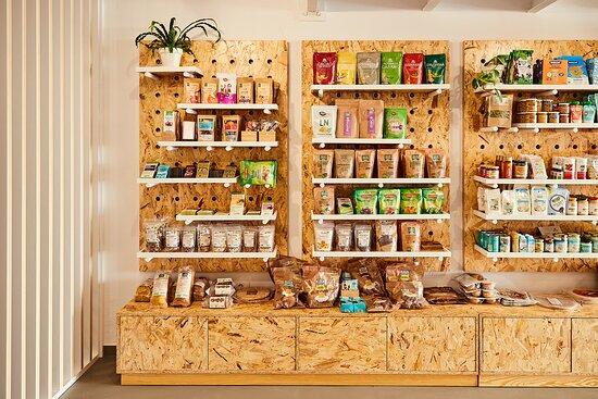 Famara, Ισπανία: Productos ecológicos. Productos Gluten Free, sin gluten.