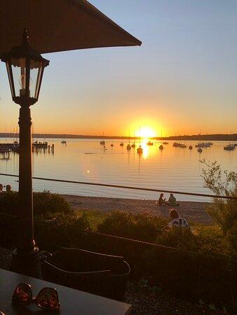 Schöner Abend im Seespitz