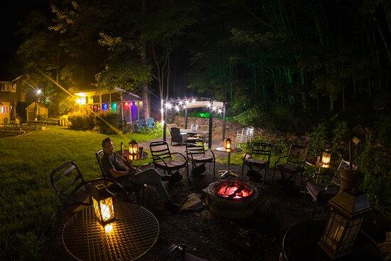 Big Indian, État de New York: Fire Pit.