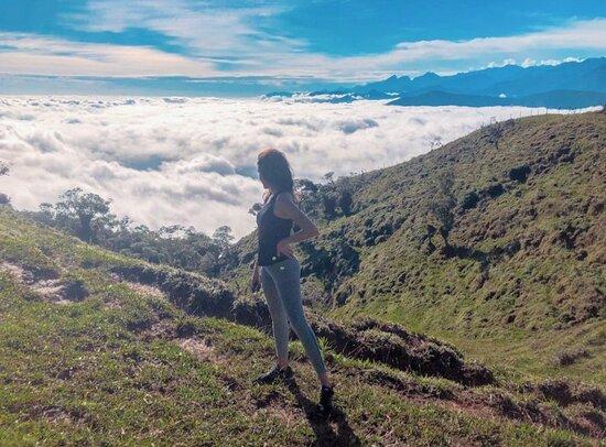 Trekking Cerro Kennedy 2 days: view from finca