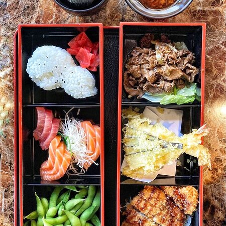 This is Bentoya Special Bento.  It is good for sharing or good for a hungry person.