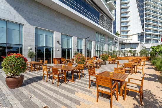 FireLake Grill House Outdoor seating