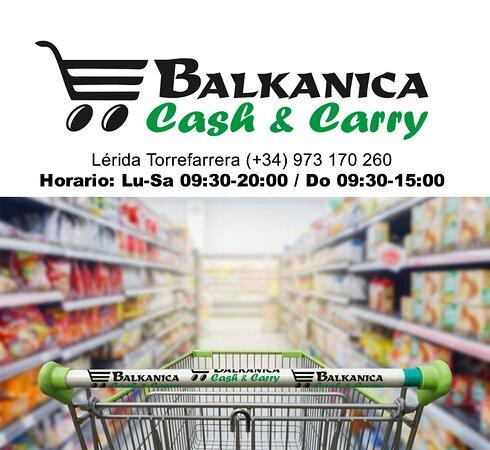 Lleida, España: Cash & Carry Balkanica Torrefarrera, gran variedad de productos rumanos, búlgaros y polacos.