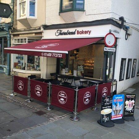 Thurabread Bakery Monmouth Shopfront