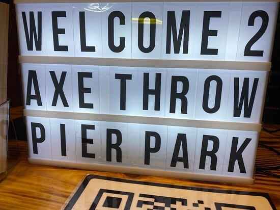 Axe Throwing Pier Park