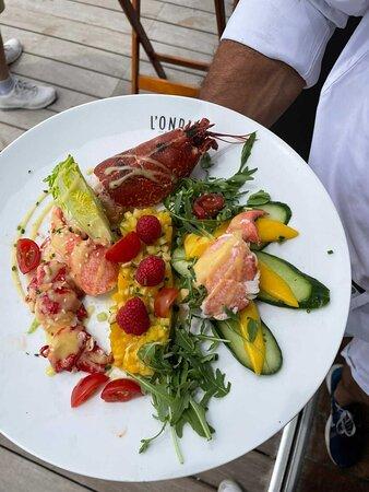 Salade de Homard et mangue