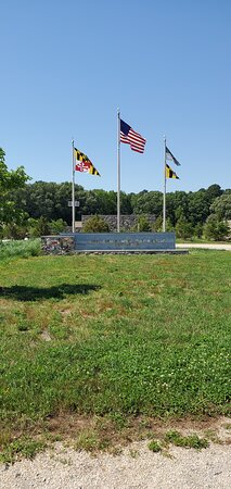 Church Creek, MD: In front of visitor center