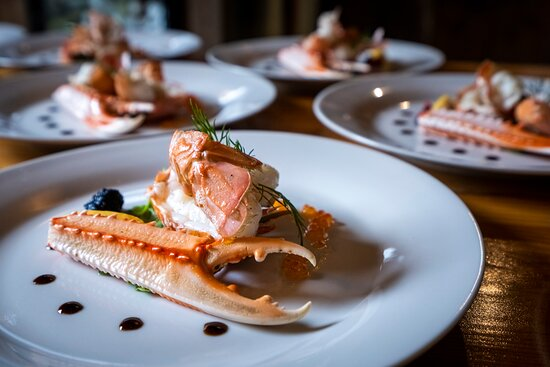 Solvorn, Norvège: Norway lobster - a specialty