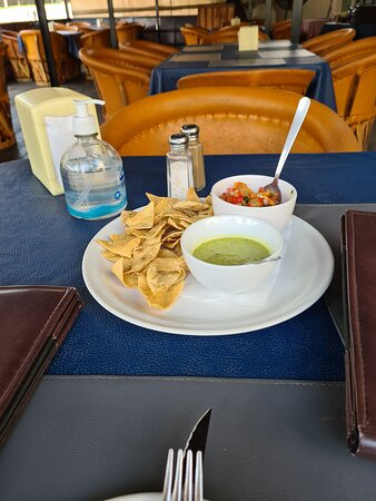 Chips and salsa to start
