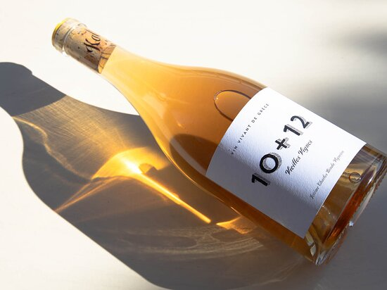 A natural wine (no sulfites) from the Tinos vineyard