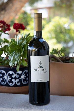 A single variety fine white wine from Santorini