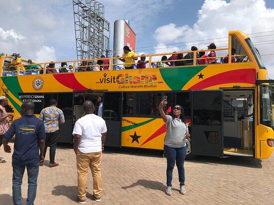 אקרה רבתי, גאנה: Accra City Tour
