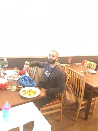 Shamrez visiting from Sheffield!