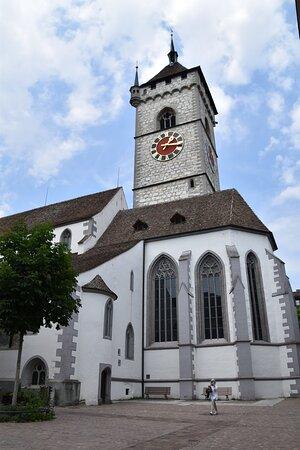 Schaffhausen, Switzerland: Por fora sim