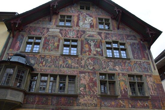 Schaffhausen, Switzerland: fachada