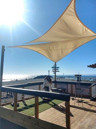 Hermosa vista desde Escuela Curanipe Surf.