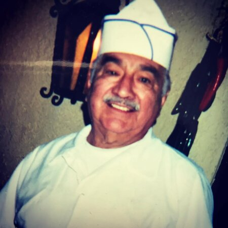 Chef Smiley Recendez! The Original Mijares Chef and son in law to Jesucita Mijares! Dad❤️ created many dishes with Jesucita & Mom waited tables as all of the Mijares Recendez family has! We miss you Dad! Happy Father's Day!