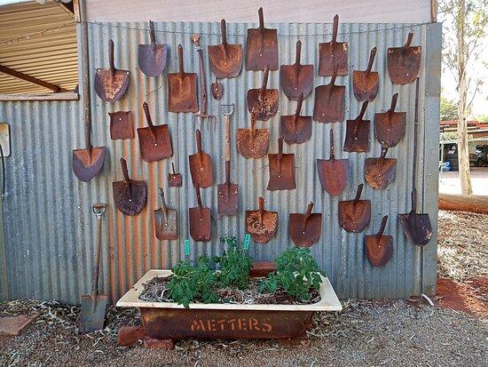 Wiluna, Úc: Dugs wall