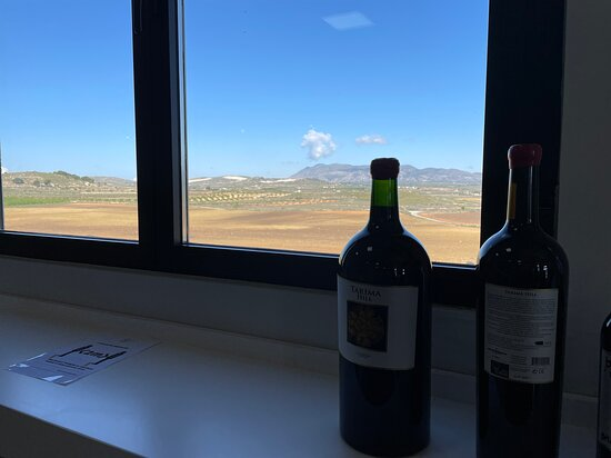 Pinoso, إسبانيا: A Bodegas with a stunning view 
