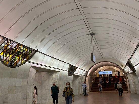 Tsvetnoi Bulvar Metro Station