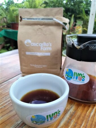 Pena Blanca, Honduras: We only serve specialty coffee to give you a better coffee experience! For each cup you get in our coffee shop, small producers from La Paz and Copan (Western Honduras) receive a fair price for their exceptional beans!