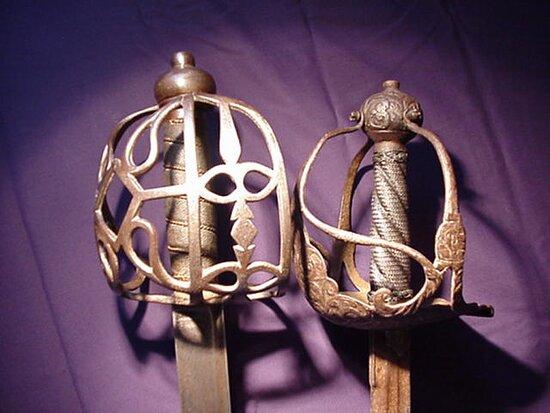 Tavistock, UK: Antique Swords