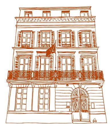 HOTEL DES QUINCONCES - L'HISTOIRE