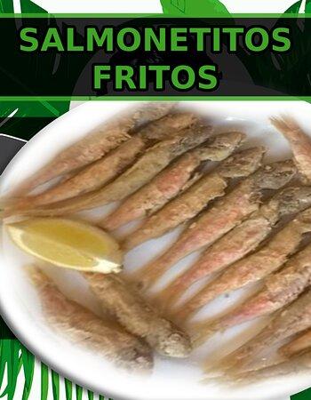 Salmonetitos fritos