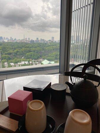 さすがパレスホテル東京
