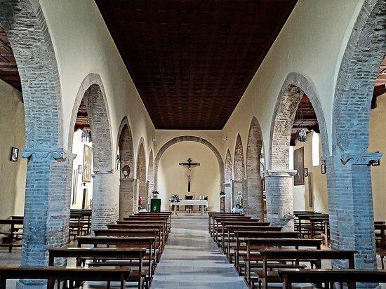 Interno della chiesa di San Nicola