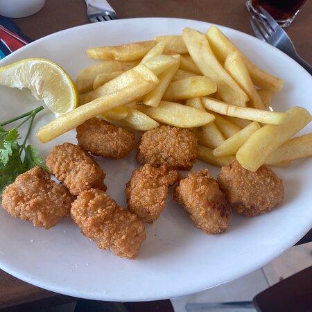 Mudeford, UK: Food and menu