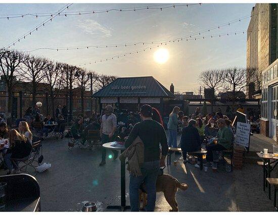 Sunsets are always best at Bill's Beer Garden