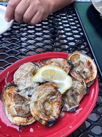 Bread, barbecue shrimp, French onion soup, my porterhouse and my desert.  Full send on this one. - Picture of Alamo Steakhouse, Gatlinburg - Tripadvisor