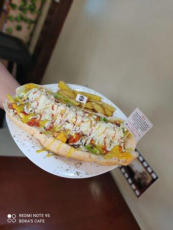Gualaceo, Ecuador: Sándwich Pepito 30cm